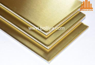 CC-002 Brass Composite Panel Material (Natural surface)
