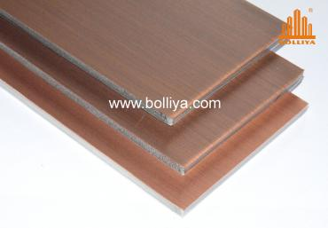 CC-005 Dark Brown Copper Composite Panels (Aged surface)