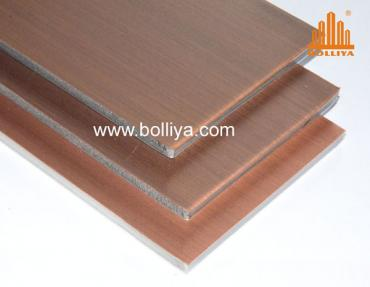 Bolliya copper soffit panels